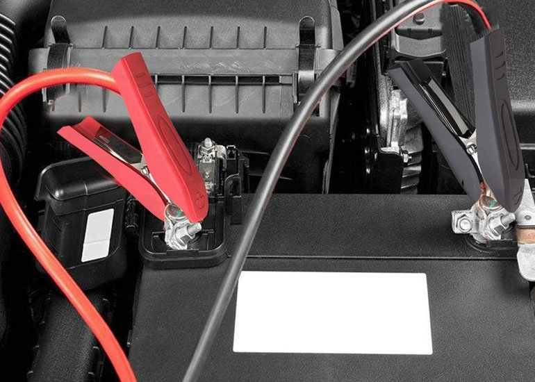 image of new motorbike battery charger