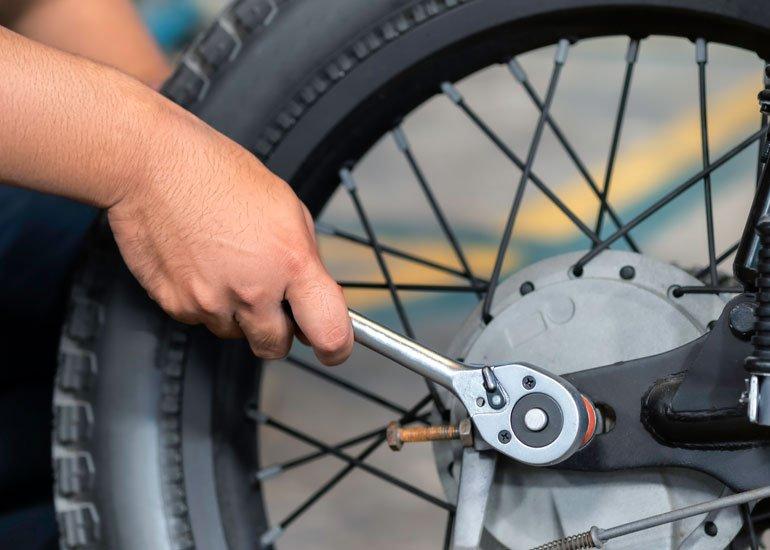 image of tyre repair