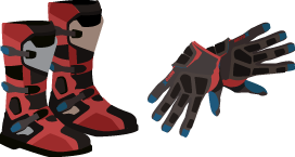 Motorcycle Hand and Footwear