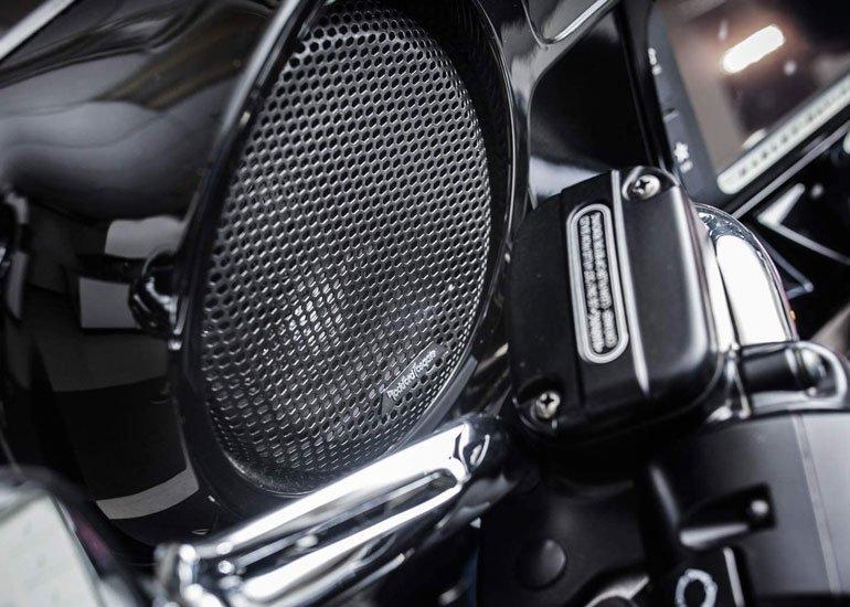 image of fairing speaker