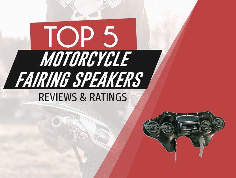 image of motorcycle fairing speakers