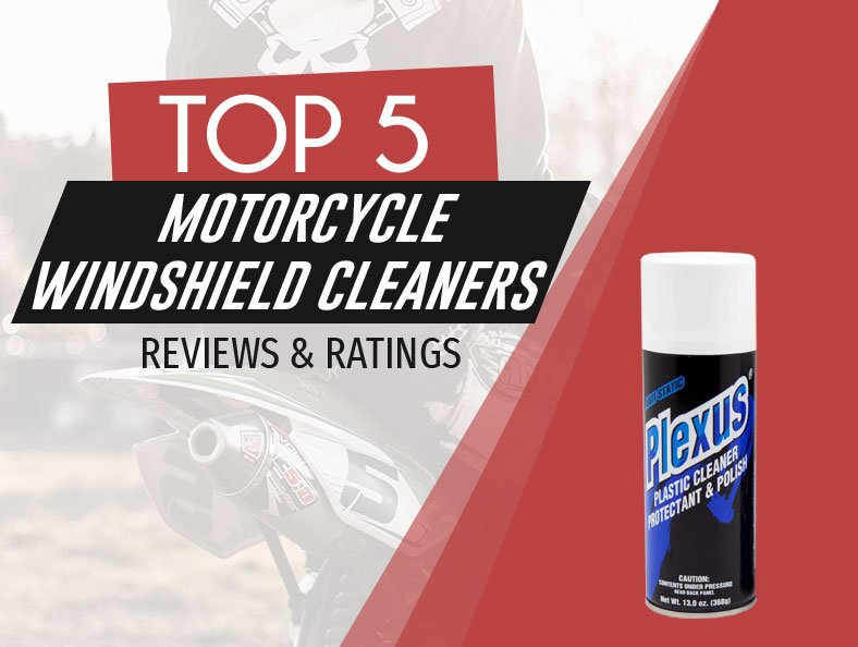 image of top rated motorcycle windshield cleaners