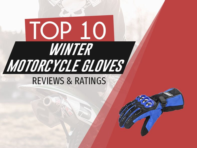 image of top rated winter motorcycle gloves