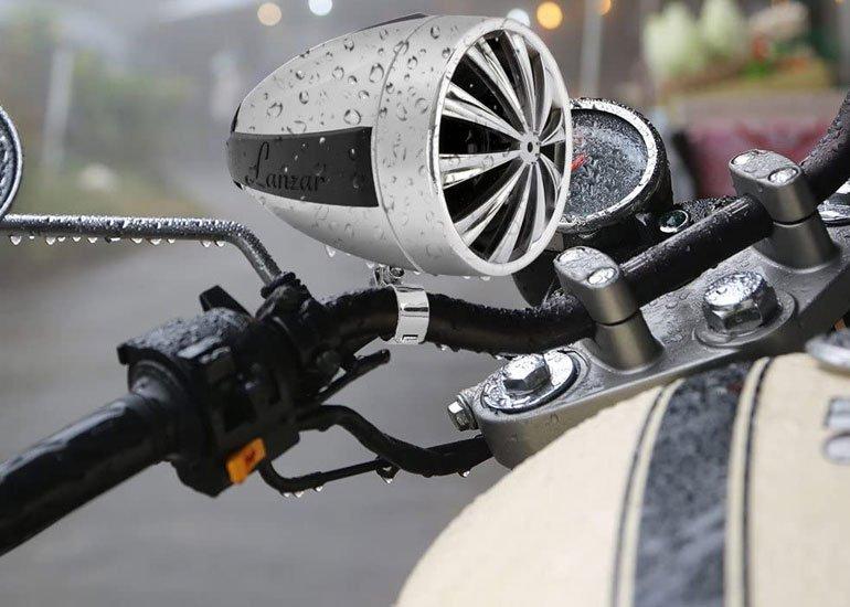 image of waterproof handlebar speakers