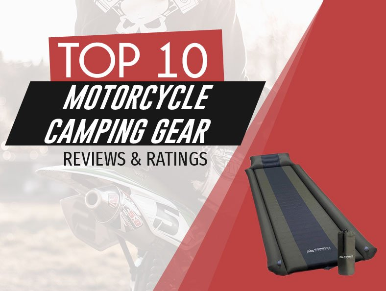 image of top rated motorcycle camping gear