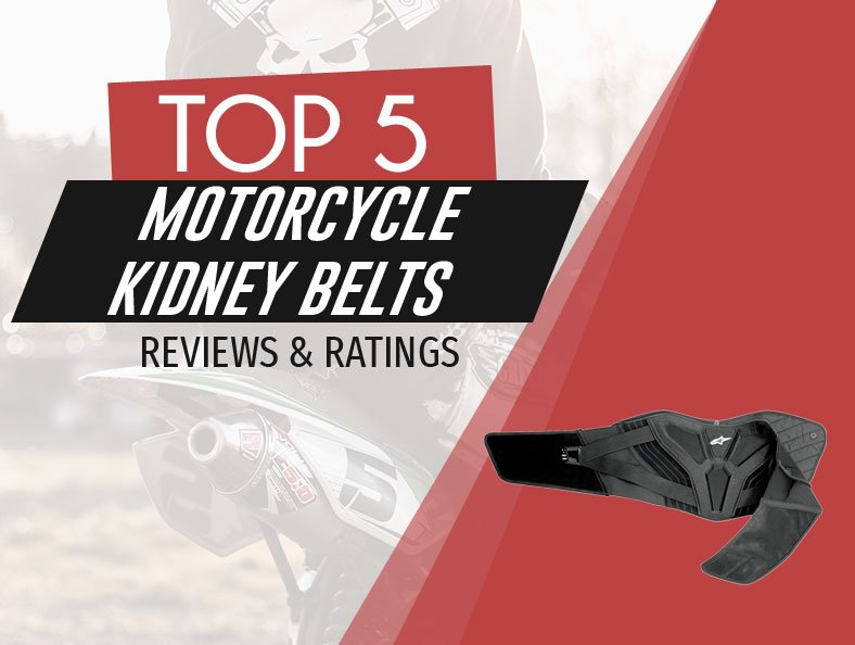 image of top rated motorcycle kidney belts