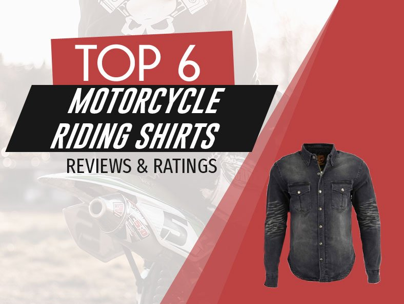 image of top rated motorcycle riding shirts
