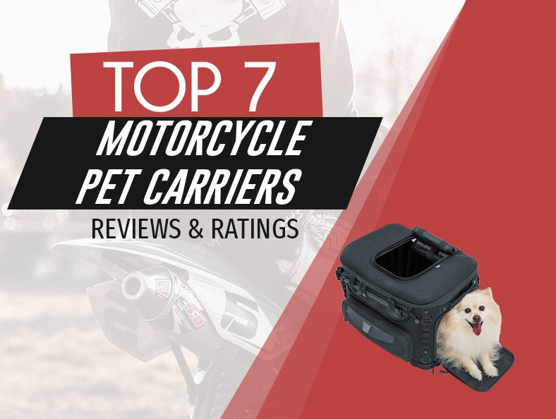 image of top rated motorcycle pet carriers