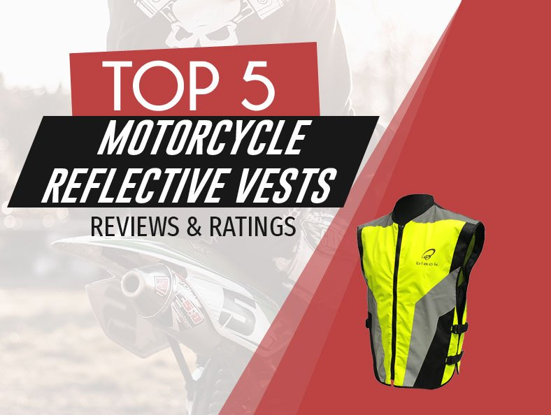 image of top rated motorcycle reflective vests