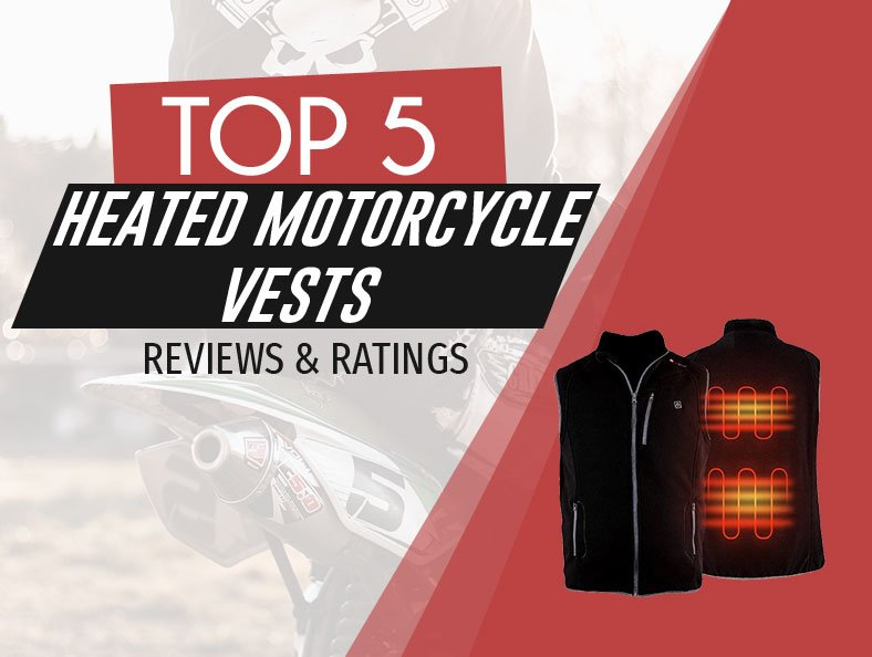 image of top rated heated motorcycle vests