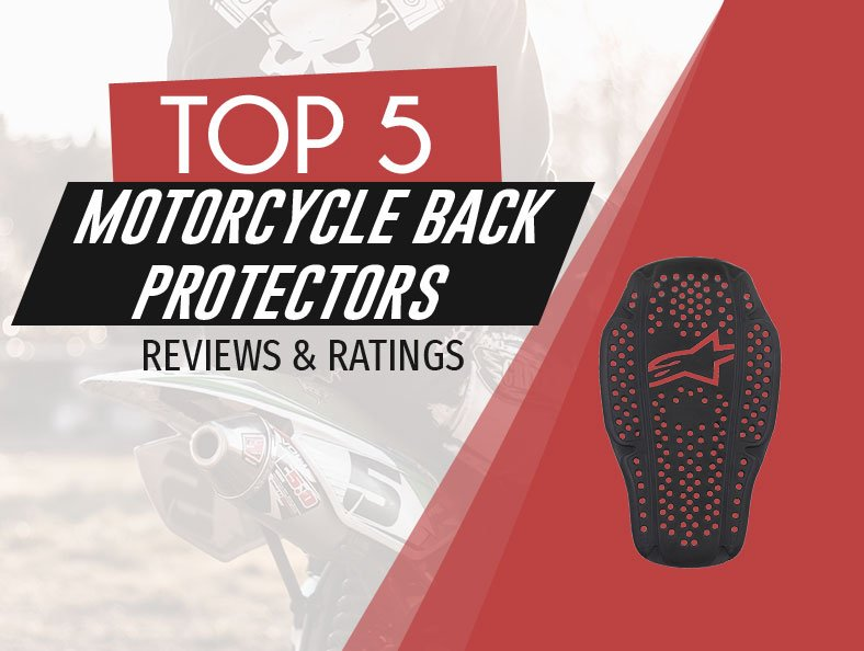 image of top rated motorcycle back protectors