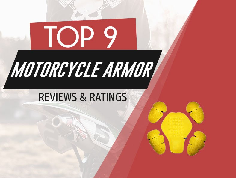 image of top rated motorcycle armor